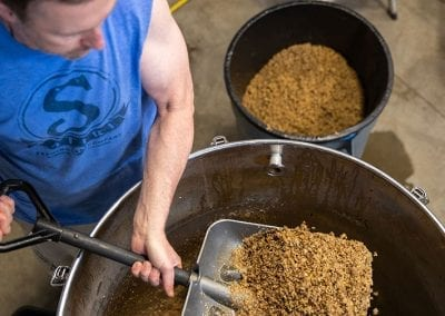 Brewing Beer at Satire Brewing Company Denver- Digital Photography by Bill Mitchell Marketing