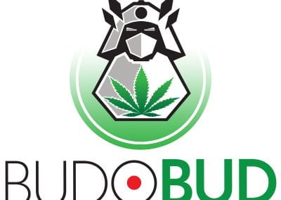 Digital 303 Cannabis Logo Design: Cannabis Graphics: Budo Bud Logo