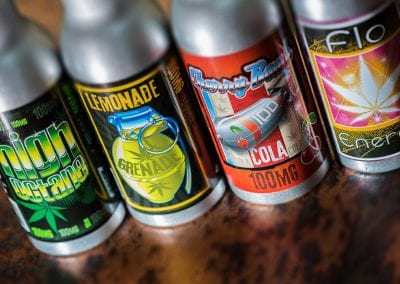 Digital 303 Marijuana Product Photography: Flavored Cannabis Drinks
