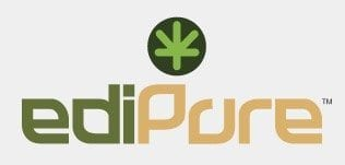 EdiPure Denver Logo- Oasis Cannabis Superstore Partner