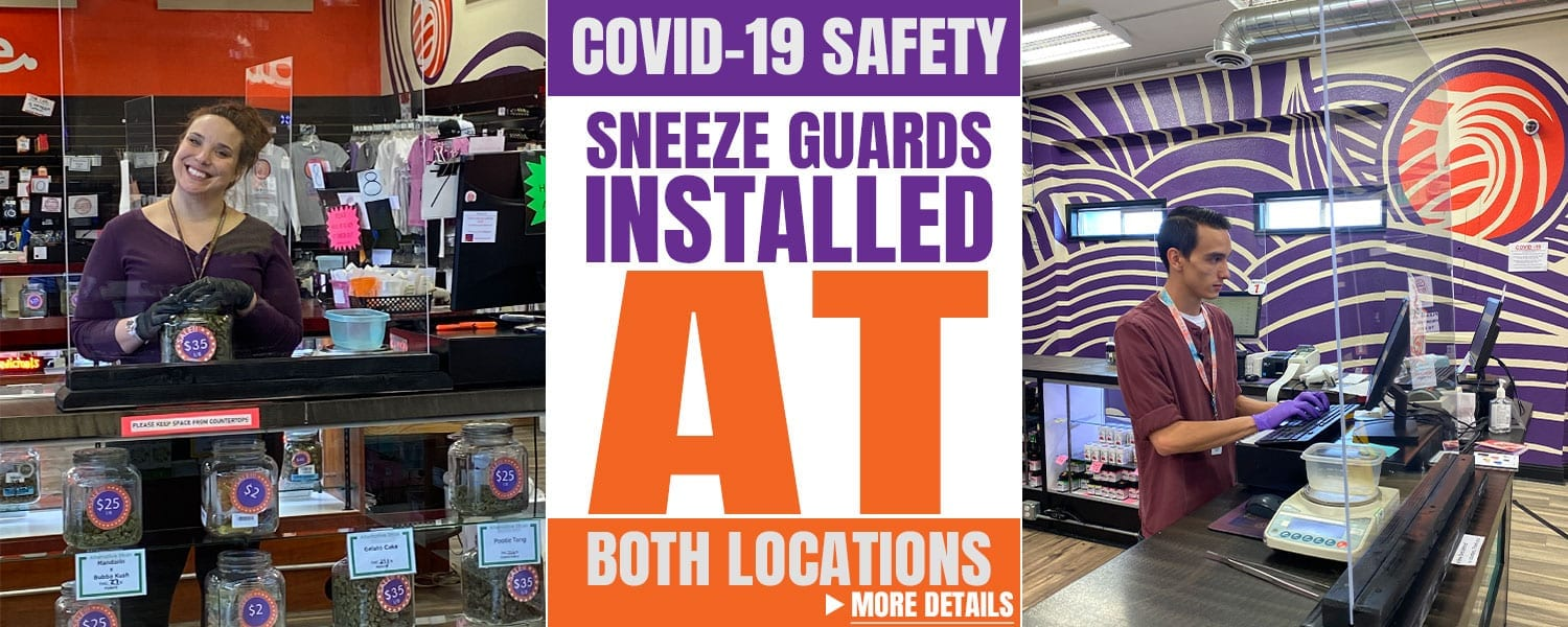 COVID-19 Safety - Oasis Cannabis Superstore Sneeze Guards