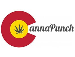 CannaPunch Cannabis Drinks & Edibles Logo- Buy at Oasis Denver Dispensary