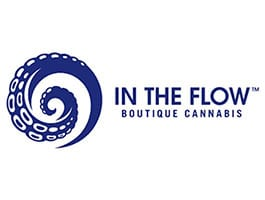 In The Flow Craft Cannabis Grower Logo- Featured at Oasis Superstore Denver