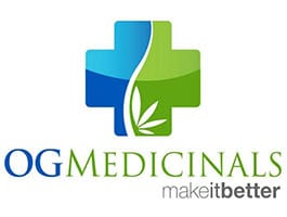OG Medicinals Cannabis Products Logo- Buy at Oasis Superstore