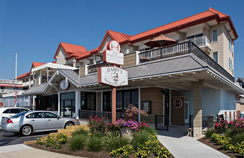Cape May's finest restaurant, Harry's exterior.