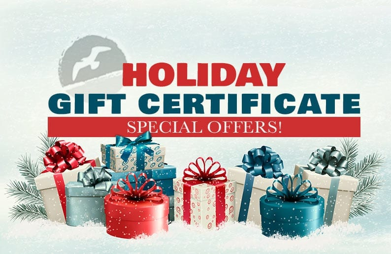 Holiday Gift Certificates- Cape May Hotel- Montreal Beach Resort