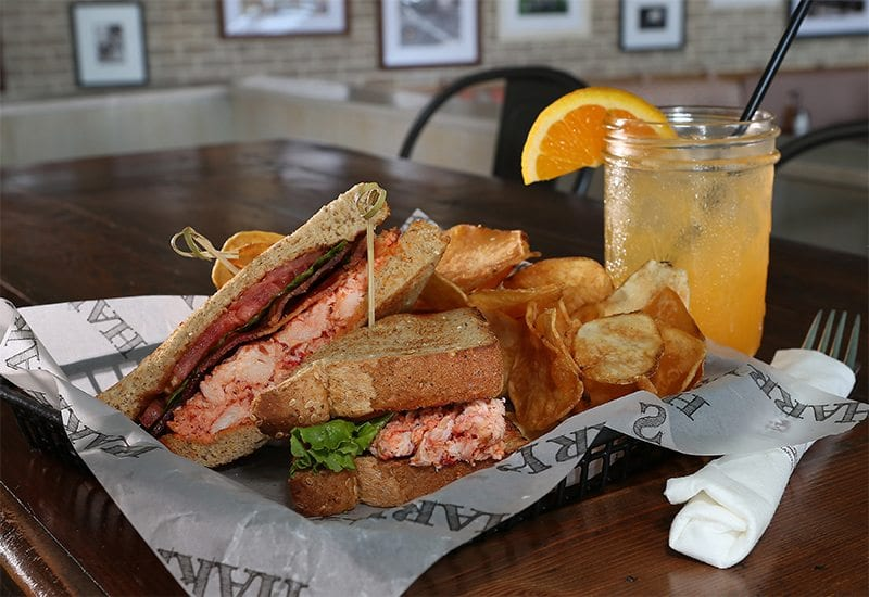 Harrys Lobster Sandwich- Cape May Restaurant
