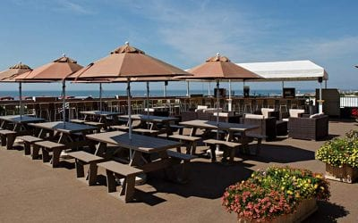 Outdoor dining in Cape May Summer 2020