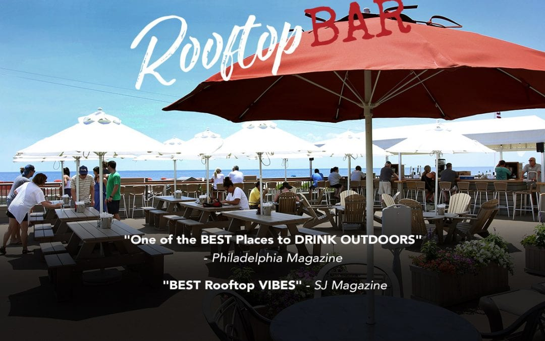 Harry's Rooftop Bar in Cape May Graphic