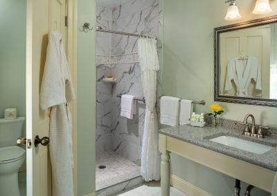 Charing Cross Bathroom with Vanity Sink, Shower & Water Closet