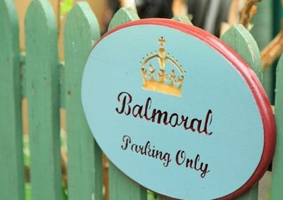 The Balmoral Room - Parking