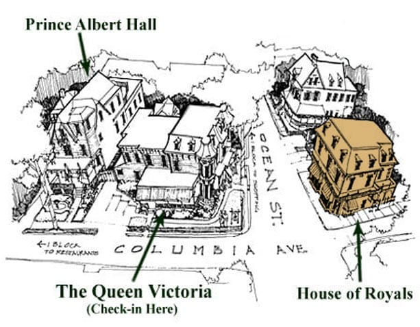 The Queen Victoria Buildings - House of Royals
