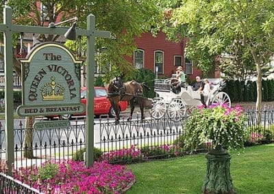 Queen Victoria Buildings- Cape May's award winning Bed and Breakfast