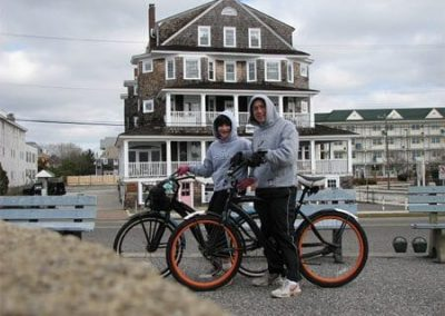 Guest Photos- People with bikes in Cape May