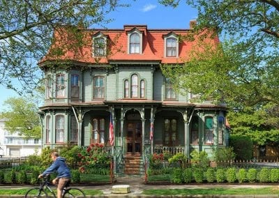 The Queen Victoria Building- Cape May Award Winning Bed and Breakfast