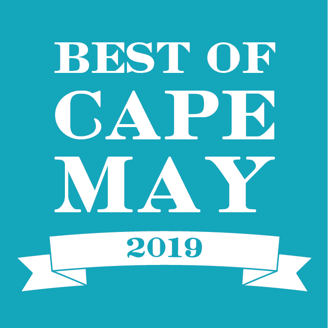 Voted Best of Cape May 2019 (CapeMay.com)